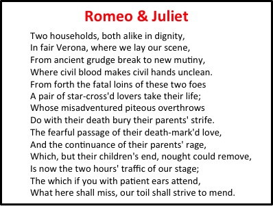 introduction to shakespeare lessons teach romeo and juliet prologue essay tk xc com