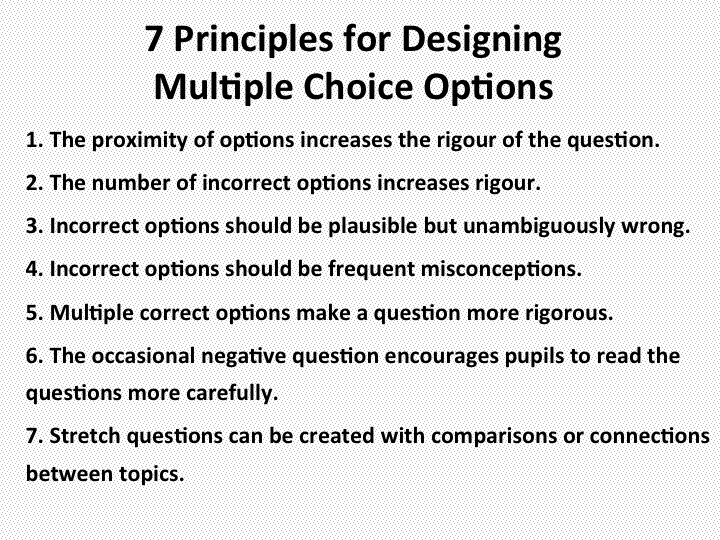 multiple choice question Academic reading sample task – multiple choice [note: this is an extract from  an academic  reading sample task – multiple choice questions 10 – 12.